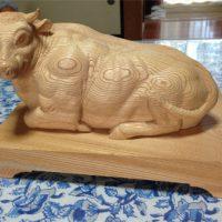 20160824青木さん牛の彫り物・前HPブログ